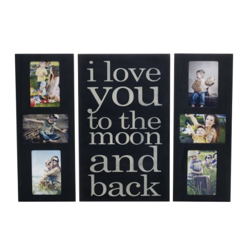 Melannco Collage and Sentiment Plaque Frame (Set of 3)