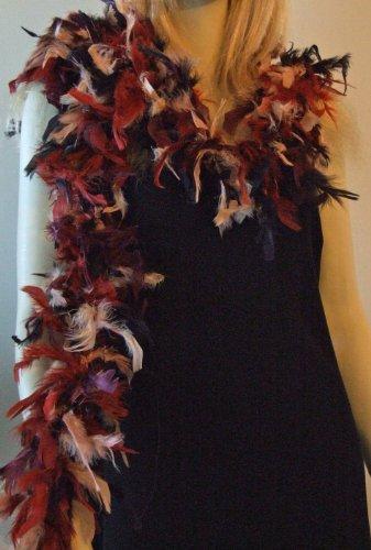 17th Century Children's Costume (Feather Boa Autumn Mardi Gras Masquerade Halloween Costume Feathers)