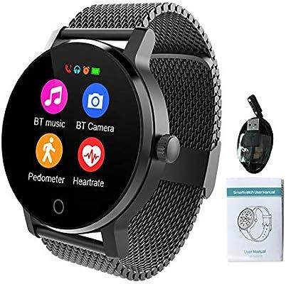 Lâ Vestmon SMA-09 Actividad Smartwatch Pulsera Deportiva Hombre Mujer Impermeable Reloj Inteligente con Pulsómetro Monitor de Ritmo Cardíaco Podómetro ...