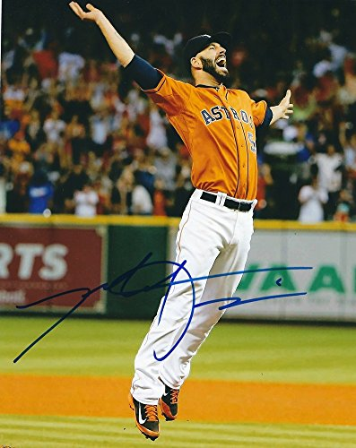 Signed Mike Fiers 8x10 Houston Astros Photo - Authentic Autograph
