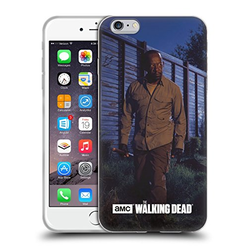 Official AMC The Walking Dead Morgan Filtered Characters Soft Gel Case for Apple iPhone 4 / 4S