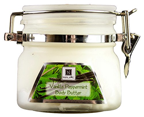 - Vanilla and Peppermint Body Butter, 3oz