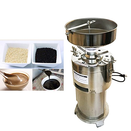 - Commercial Electric Sesame Machine Peanut Butter Machine Multi-functional Grinding Machine for Sesame Peanut butter 110v (#020337)