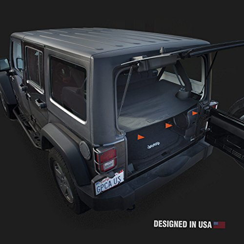 Gpca Cargo Cover Lite For Jeep Wrangler Jku Sports Sahara