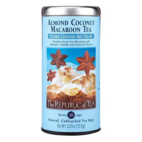 The Republic Of Tea Almond Coconut Macaroon Red Rooibos Herbal Tea