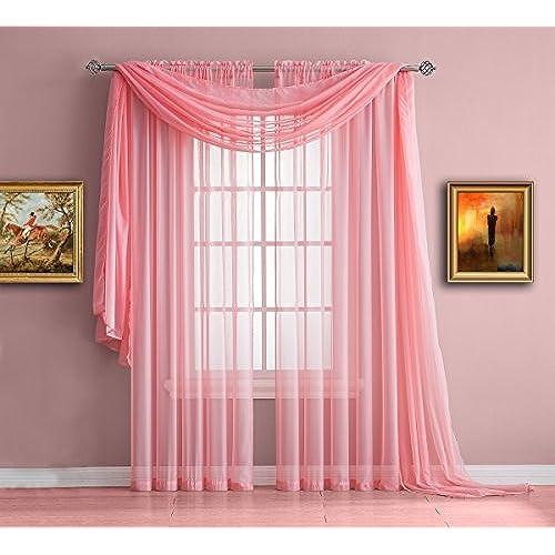 Kids Pink Room Curtains: Amazon.com
