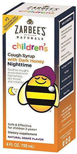 Zarbee's Naturals Children's Cough Syrup with Dark Honey Nig