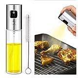 Best Oil Sprayers - Topixdeals Olive Oil Sprayer, Stainless Steel Refillable Oil Review