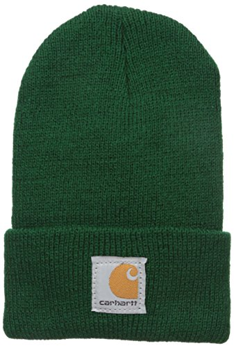 Boys Acrylic Watch (Carhartt Youth Boys' Acrylic Watch Hat, Greener Pasture, Toddler)