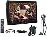 """Milanix 14.1"""" Portable Widescreen LED TV with"""