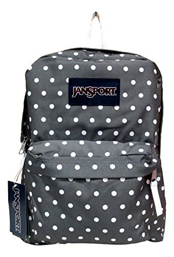 Jansport Superbreak Backpack! (Shady Grey Stitch Plaid) by JanSport (Image #2)