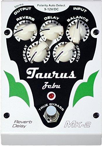 非常に高い品質 Taurus Amplifcation White Line Zebu Taurus MK2 Reverb-Delay Pedal Line White [並行輸入品] B078HR6JPG, ルチアーノジェラート:cad0ce61 --- a0267596.xsph.ru