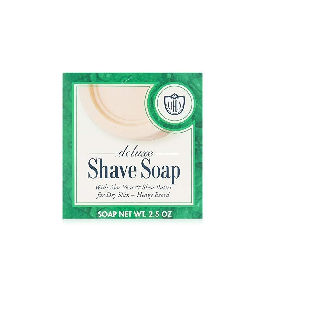 Van Der Hagen Deluxe Face Shave Soap 2 Individual Cakes