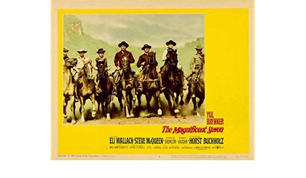 "The Magnificent Seven 35/"" Poster"