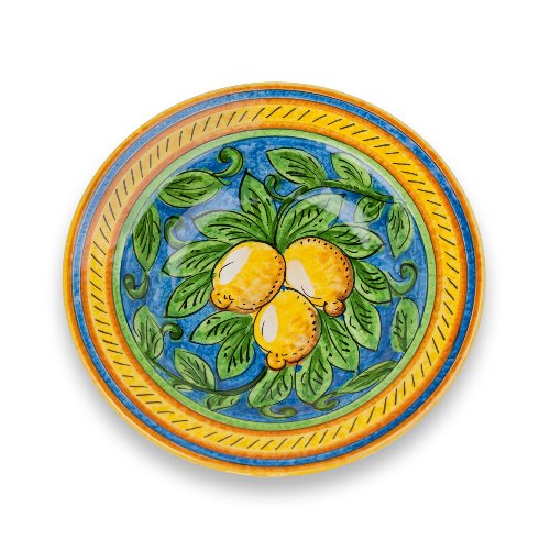 Italian Pottery Umbria Hand Painted Limone Ceramic Pasta ...