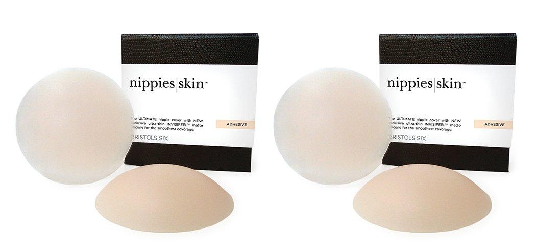 Nippies Skin ORIGINAL Hypoallergenic Nipple Covers Pasties with ADHESIVE CREME