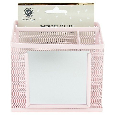Ubrand Locker style mesh cup with mirror magnetic Pink (Locker Stuff)