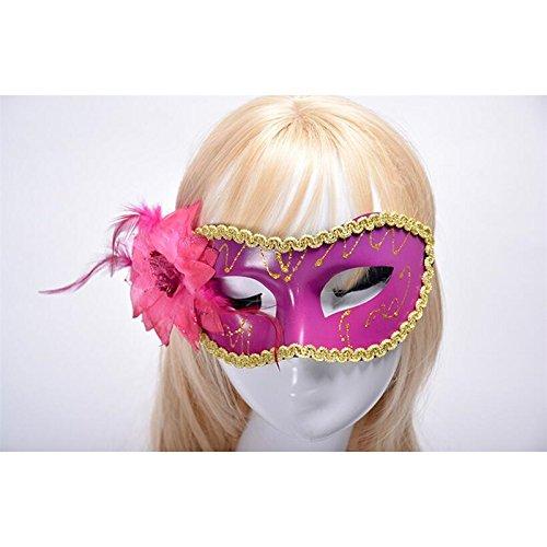 Carnevale Partito Del Della Ql Piuma Costume Veneziano Mascherina Di Mascherata Sfera Costume Leng Nuovo qO8faxnwn