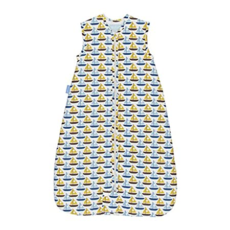 The Gro Company Orla Kiely Travel Grobag, 0 to 6 Months, 1.0 Tog, Boats Gro-group International Limited AAA4445