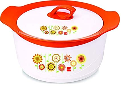 Buy FRESHCO CASSEROLES/Hot Case/Hot Pot Signature 2400 ML Orange