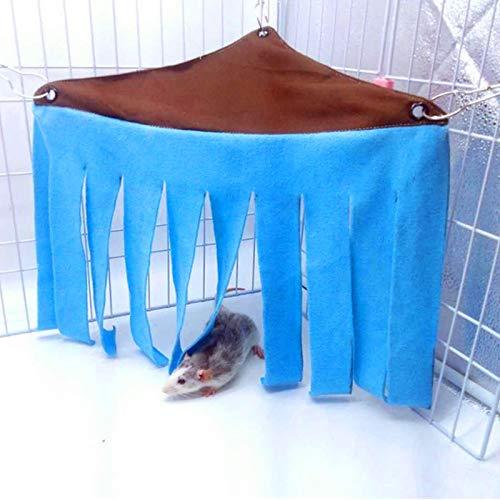 WLcute Conejillo de Indias Casa Oculta Hamaca Resto para Hurones ...