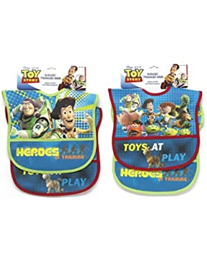 Toy Story Two Pack Deluxe Vinyl Bib