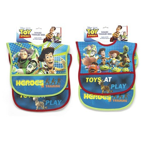Toy Story Two Pack Deluxe Vinyl Bib (Baby Buzz Lightyear)
