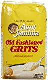 Quaker Grits Aunt Jemima Old Fashioned Bag - 80 oz (Pack of 16)