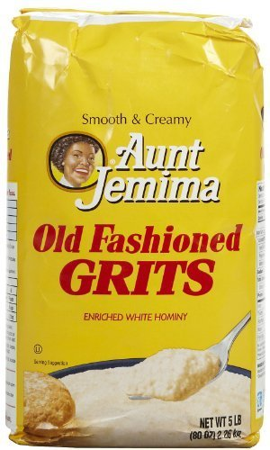 Quaker Grits Aunt Jemima Old Fashioned Bag - 80 oz (Pack of 16) by Quaker