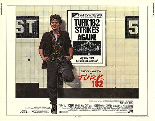 Turk 182   Authentic Original 28  X 22  Movie Poster