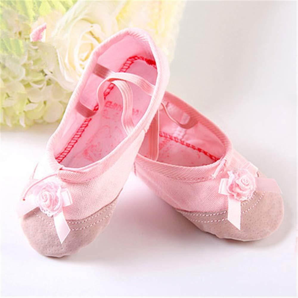 Slippers for Girls Classic Dance Gymnastics Yoga Shoes Flats
