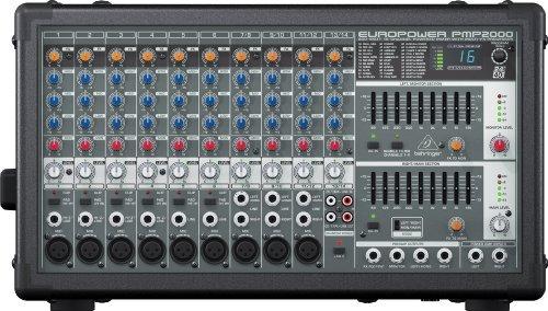 Behringer PMP2000 14 channels 10 - 200000 Hz negro mesa de mezclas ...