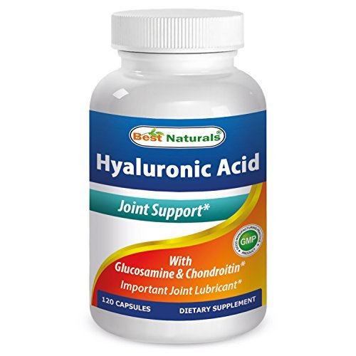 Best Naturals Hyaluronic Acid 100 120 Capsules by Best Naturals (Best Naturals Hyaluronic Acid)