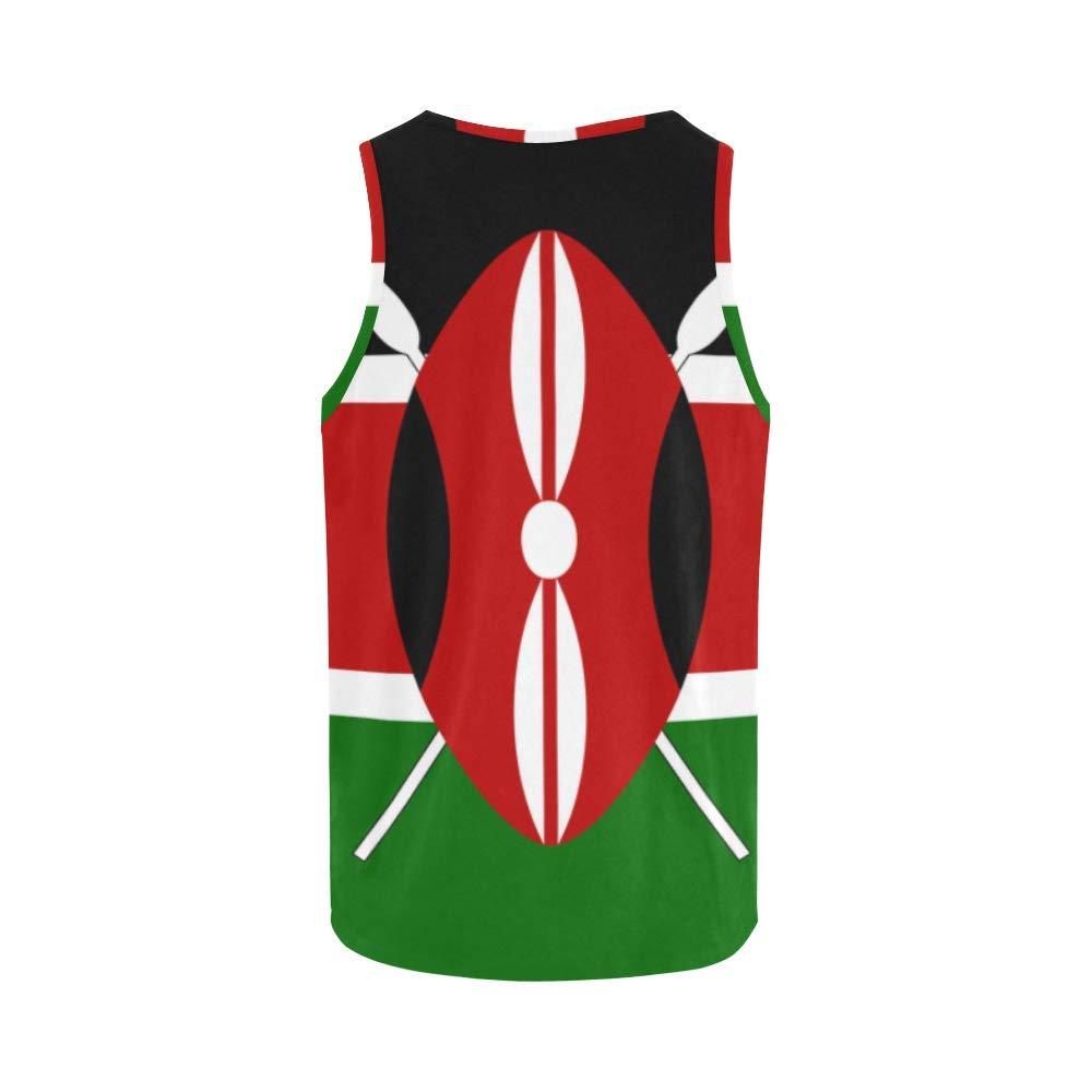 Lumos3DPrint Kenya Flag Mens Tank Top