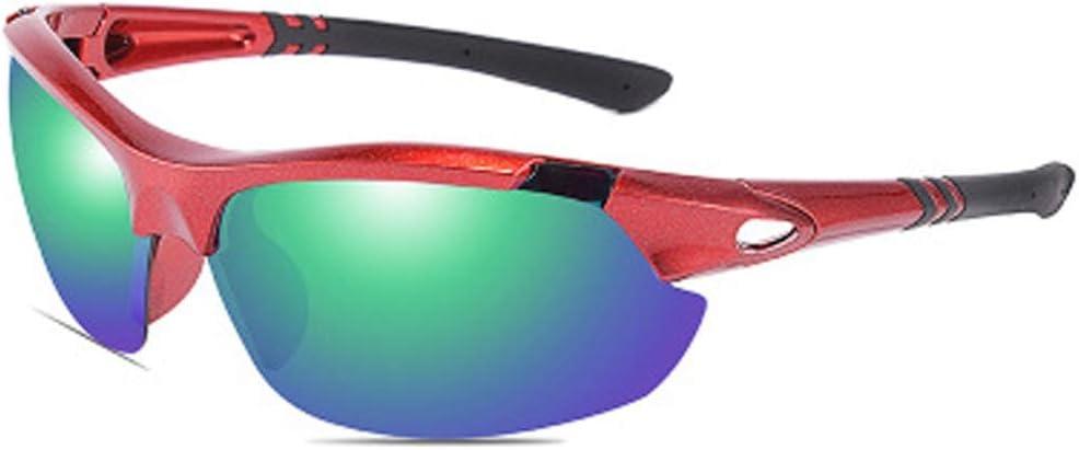 YWYU Moda polarizada Gafas de Sol Deportivas, 8536 Gafas de Ciclismo al Aire Libre, Lentes TAC Resistentes a la radiación, Gafas de Sol de protección UV400 contra la tormenta de Arena para Hombres