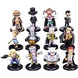 anime One Piece 12 Figures