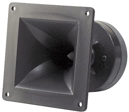 Pyle-Pro PH44 150W Compression Horn Tweeter 4-Inchx4-Inch