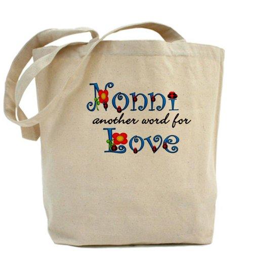 CafePress Nonni Love––Gamuza de bolsa de lona bolsa, bolsa de la compra