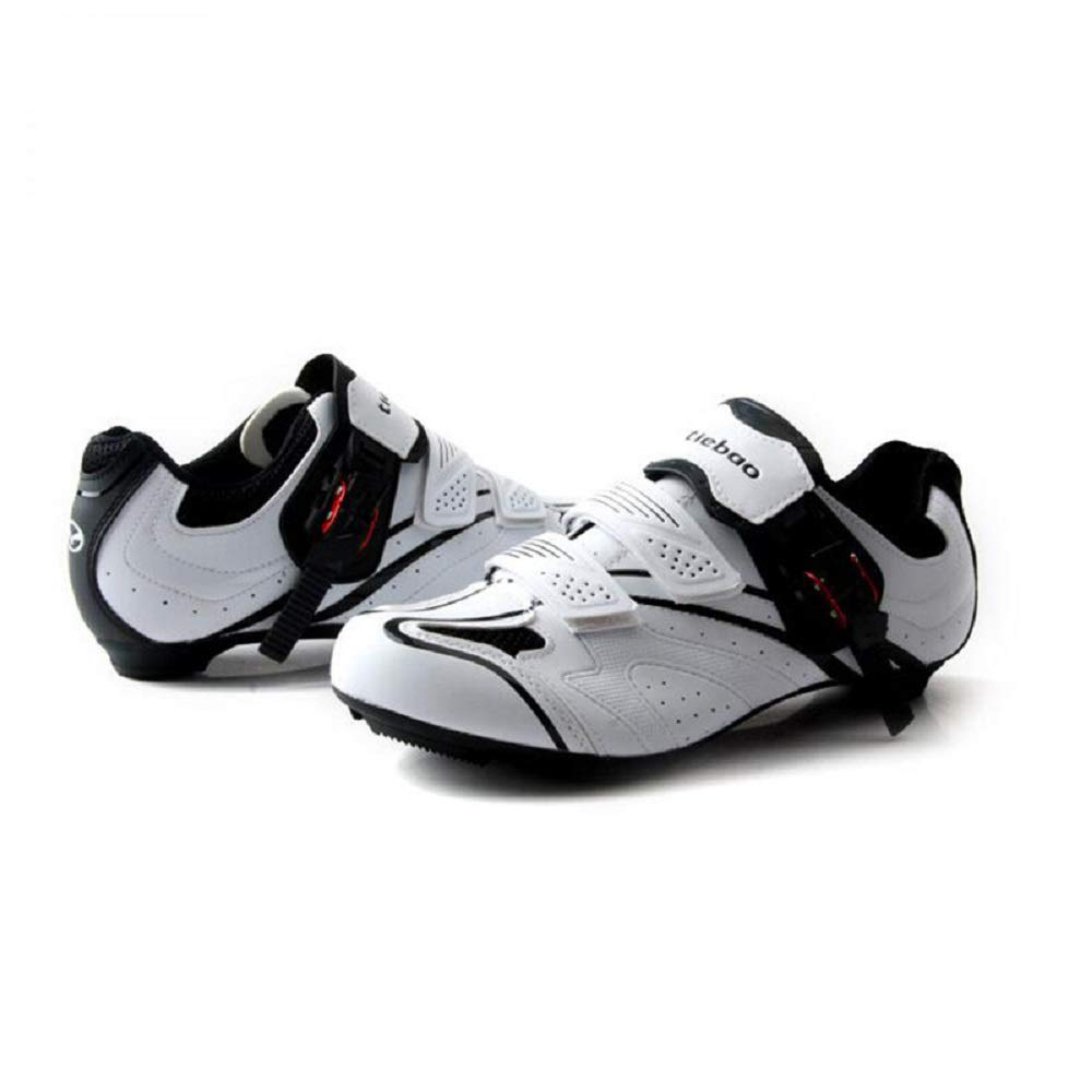 Tiebao Road Cycling SL Look Spinning Lightweight Breathable Shoes Men Anti Slip Sports Sneakers Bike SPD Compatible Bicycle Shoes