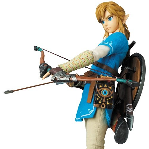 Breath of The Wild Link Real Action Hero Figure Diamond Select MAR178289 Action Figures Entertainment Earth LOZ