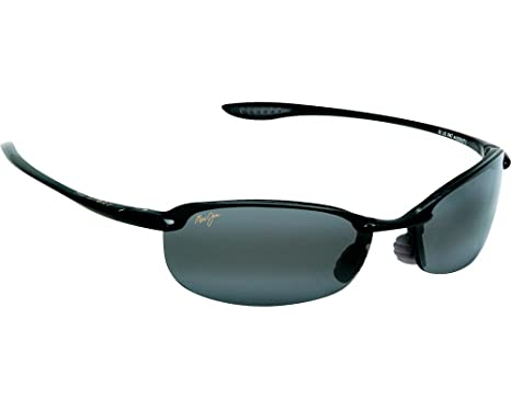 01e377df9f943 Maui Jim Makaha Noir Brillant Gris Neutre Polar+  Amazon.fr ...