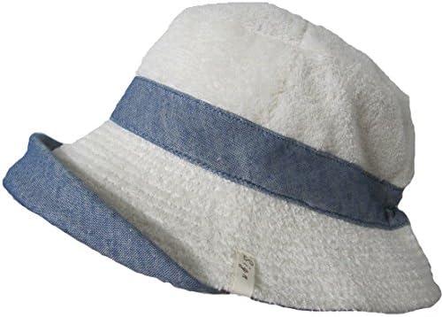 オーガニックコットン・パイルの帽子リバーシブル ネイビー SIGN M-LABEL サイン NOCGREEN認定商品