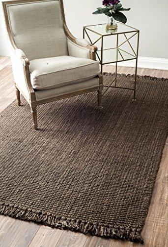 chocolate area rug - 6