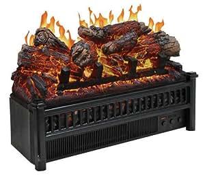 Cofort Glow Electric Log Set w Heater