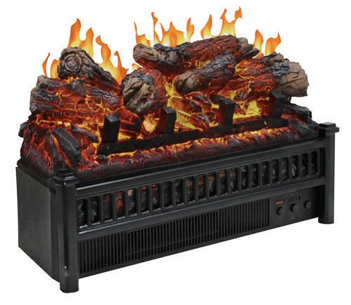 - Comfort Glow Electric Log Set with Heater