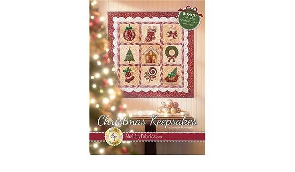 Amazon.com: clearance sale~christmas keepsakes full color applique