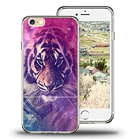 iPhone 6s Case Viwell iPhone 6/6s (4.7 Inch) Case, 2015 Unique Design fashionable Protective Cover Tiger (2015 Go Phones)