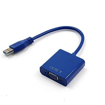 taottao USB 3.0 A VGA adaptador multi-pantalla convertidor ...