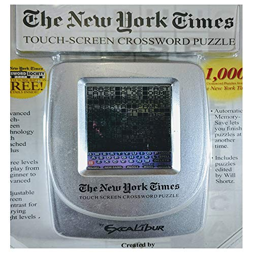 The New York Times Touch-screen Crossword Puzzle (New Electronic Puzzle York)