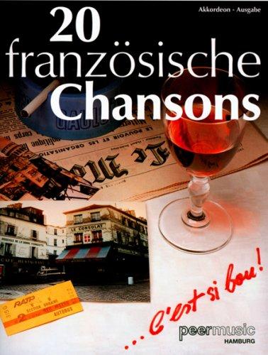20 Französische Chansons - Akkordeon (Noten)